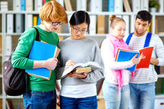 Group reading Stock Photography