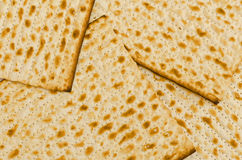 A group of rectangular Matzot Stock Photos
