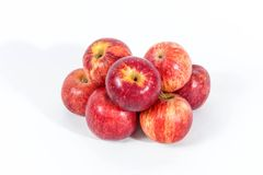 Group of red apples Royalty Free Stock Photo