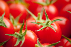 Group of red cherry tomato. A group of red cherry tomato royalty free stock image