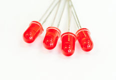 Group of Red led Stock Images