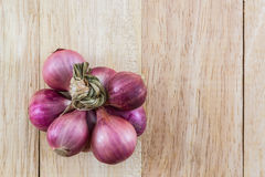 Group of red onion. Stock Photo