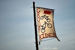 Group rides sign royalty free stock photo