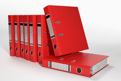 Group of ring binders Royalty Free Stock Photography