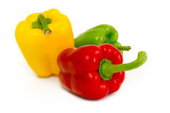 Group of ripe juicy peppers Stock Photo