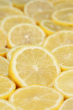 Group of ripe lemons Stock Photo
