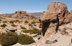 Rock formations at Valle de las Rocas royalty free stock image