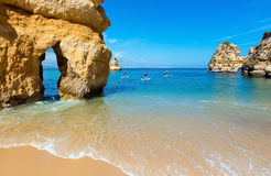 Group of rock formations (Portugal). Royalty Free Stock Images