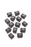group of Rocker Switches Stock Photography