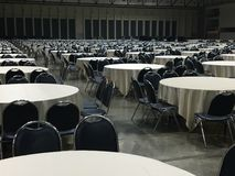 Group of round table / pattern of round table Royalty Free Stock Photos