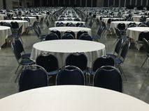 Group of round table / pattern of round table Stock Photography
