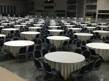 Group of round table / pattern of round table Stock Photo