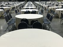 Group of round table / pattern of round table Stock Photos