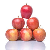 A Group Of Royal Gala Apple I Royalty Free Stock Photography