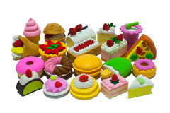 Group Of Rubber Sweet Dessert Stock Photography