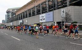 Milano City Marathon Stock Photography