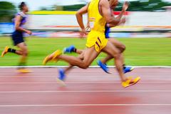 Group runners speed Stock Photos