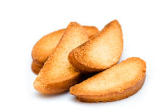 Group of rusks Royalty Free Stock Image