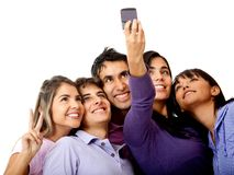 Group�s self-portrait Stock Photos