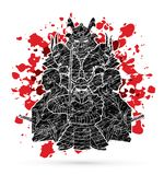 Group of Samurai, Ready to fight composition graphic vector. Group of Samurai, Ready to fight composition g illustration graphic vector Stock Photos