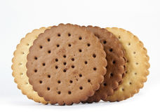 Group Sandwich biscuits Royalty Free Stock Image