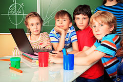Group of school Stock Image