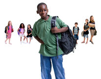 Group of school kids Royalty Free Stock Photography