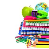 Group of school supplies Stock Photography