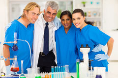 Group of scientists Royalty Free Stock Photography