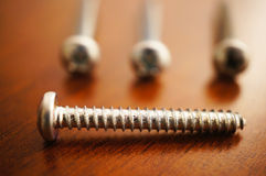 Group of screws Stock Photos