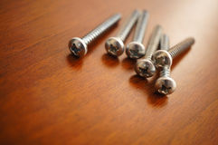 Group of screws Stock Photography