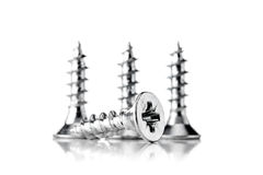 Group of screws Stock Images