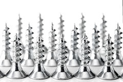 Group of screws Royalty Free Stock Photos