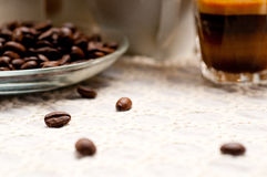 Selection of different coffee type Royalty Free Stock Photography