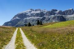 Group of Sella, Dolomiti - Italy Royalty Free Stock Image