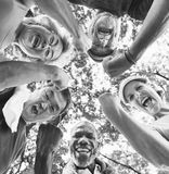 Group of Senior Retirement Exercising Togetherness Concept.  Stock Photography