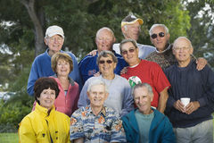 Group of Seniors Stock Photo