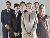 Group of Serious Businesspeople Royalty Free Stock Photos