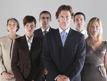 Group of Serious Businesspeople Royalty Free Stock Photography