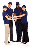 Group service staff Stock Photography