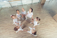 Group of ballerinas in mirror stock photo image 69039843 for Dance where you sit on the floor