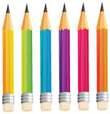 A group of sharp pencils Stock Photo