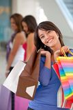 Group of shoppers Stock Photography