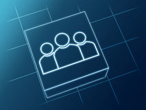 Group sign Royalty Free Stock Photo
