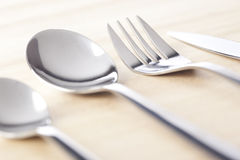 Group of silverware Royalty Free Stock Photography