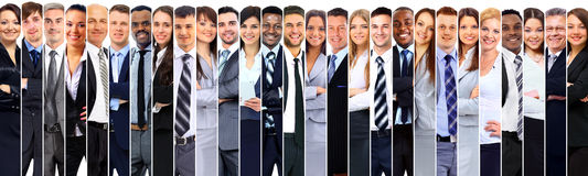 Group of smiling business people. Royalty Free Stock Photos