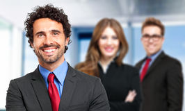 Group of smiling business people Stock Photo