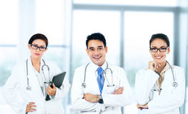 Group of smiling doctors Stock Photography