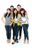 Group of smiling friends Royalty Free Stock Image