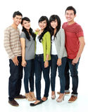 Group of smiling friends Royalty Free Stock Images